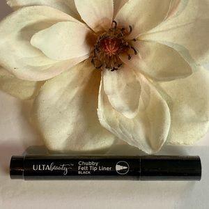 Ulta Beauty Chubby Felt Tip Liner Black eyeliner